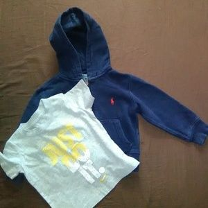 Boys 2t pair Ralph Lauren and Nike